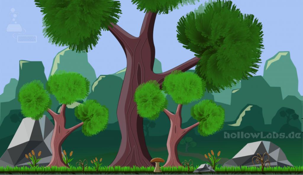 Landscape in Inkscape