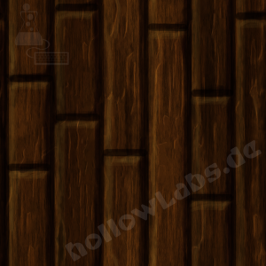 Gameart: Hantpainted Stylized Wood Plank Texture