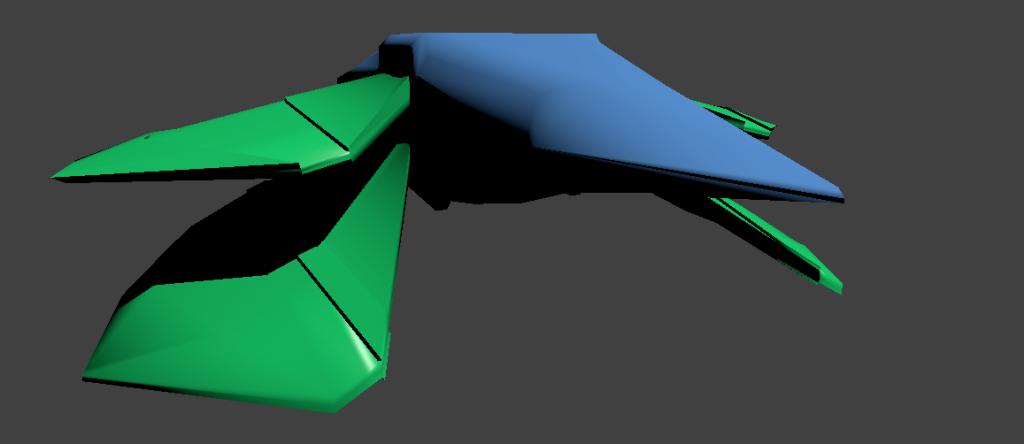 spaceship-in-blender
